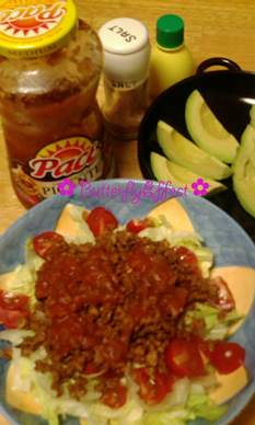 Soy Taco Rice - 大豆でできた肉の代替品「畑のお肉」でできたタコライス Jul 11 2012 5